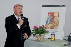 Dott. Riccardo Rossi, Presidente della Consulta Hamdicap Municipio 18 organizzatore del Convegno   ilcantico.fratejacopa.net