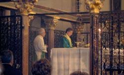 Basilica di S. Chiara - La Celebrazione Eucaristica presieduta da p. Vittorio Viola   ilcantico.fratejacopa.net