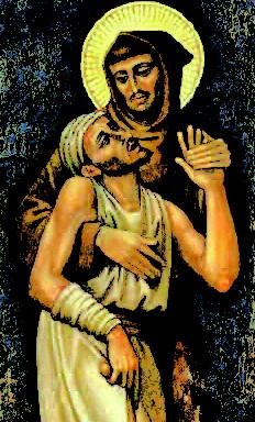 S. Francesco e il lebbroso